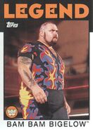 2016 WWE Heritage Wrestling Cards (Topps) Bam Bam Bigelow 74