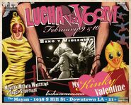 Lucha VaVoom Poster 26