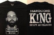 Nick Gage Hardcore King T-Shirt