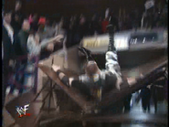 Royal Rumble 2000 Dudley through Table