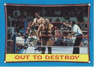 1987 WWF Wrestling Cards (Topps) Out To Destroy 40