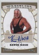 2016 Leaf Signature Series Wrestling Kevin Nash 44