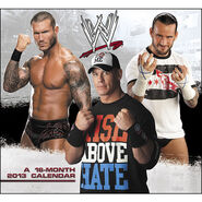 WWE 2013 Wall Calendar