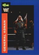 1991 WWF Classic Superstars Cards General Adnan 34