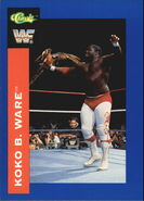 1991 WWF Classic Superstars Cards Koko B. Ware 17