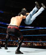 Kane vs masked man