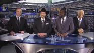 Scott Stanford, Jim Ross, Kofi Kingston & Dusty Rhodes - WrestleMania 29 panelist team