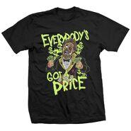 Ted DiBiase Million Dollar Zombie T-Shirt