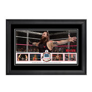 WWE Hell In A Cell 2014 Commemorative Ring Canvas Plaque