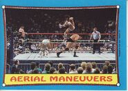 1987 WWF Wrestling Cards (Topps) Aerial Maneuvers 61