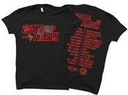 RPW x NJPW Global Wars UK Official Event T-Shirt