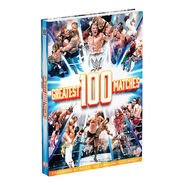 WWE The 100 Greatest Matches Hardcover Book