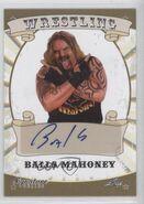 2016 Leaf Signature Series Wrestling Balls Mahoney 5