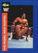 1991 WWF Classic Superstars Cards Rick Martel 41