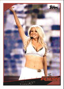 2009 WWE (Topps) Jillian Hall 67