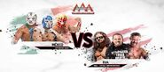 Lucha Libre World Cup 2015 Semi Final (Team Leyendas Mex vs Team TNA-Lucha Underground)