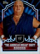 2011 Topps WWE Classic Wrestling Dusty Rhodes 78