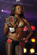 Raka khan - TNA knockouts champ