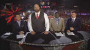 Josh Mathews, Big Show, R-Truth & Cody Rhodes - Payback 2013 panelist team