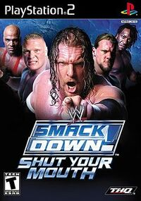 WWE SmackDown! Shut Your Mouthのカバーアート