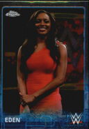 2015 Chrome WWE Wrestling Cards (Topps) Eden 25