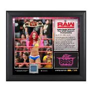 Sasha Banks WWE Women's Championship 15 x 17 Commemorative Photo Plaque