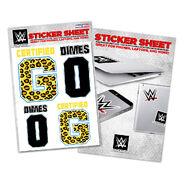 Enzo & Big Cass Certified G Sticker Sheet