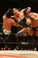 W-1 WRESTLE-1 Sunrise Tour 2015 - Night 1 6