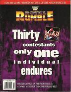 Royal Rumble 1994 Program
