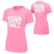 Damien Sandow Rise Above Cancer Women's T-Shirt