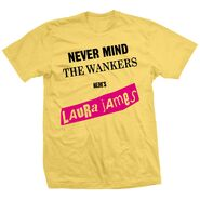 Laura James Never Mind The Wankers Shirt