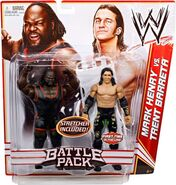 WWE Battle Packs 17 Mark Henry & Trent Barreta
