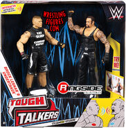 WWE Tough Talkers 1 Brock Lesnar & The Undertaker