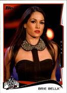 2014 WWE (Topps) Brie Bella 7