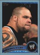 2011 WWE (Topps) Brodus Clay 32