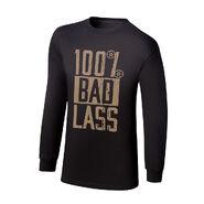 Becky Lynch 100% Bad Lass Long Sleeve T-Shirt