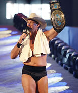 JBL as the WWE Intercontinental Champion