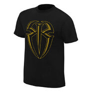 Roman Reigns I Can I Will Gold Edition Youth T-Shirt