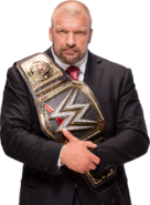 Triple h wwe world heavyweight campion by nibble t-d9r3hsd