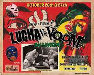 Lucha VaVoom Poster 10