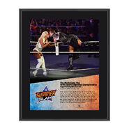 The Miz SummerSlam 2016 10 x 13 Photo Plaque