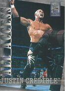 2002 WWF All Access (Fleer) Justin Credible 1