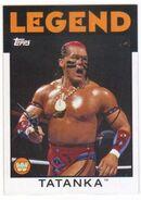 2016 WWE Heritage Wrestling Cards (Topps) Tatanka 107