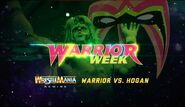 Hogan vs. Warrior 1