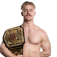 Tyler Bate United Kingdom Champion 2017