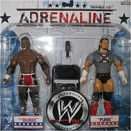 WWE Adrenaline Series 28 CM Punk & Elijah Burke