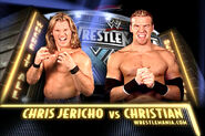 Wrestlemania 20 christian vs chris jericho