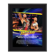 Gallows & Anderson FastLane 2017 10 X 13 Commemorative Photo Plaque