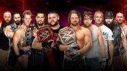 SS 2016 5-on-5 Survivor Series Men's Elimination Match