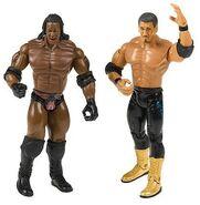 WWE Adrenaline Series 14 Booker T & Eddie Guerrero